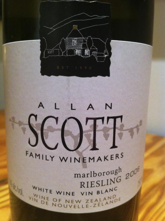 Allan Scott 2006 Riesling