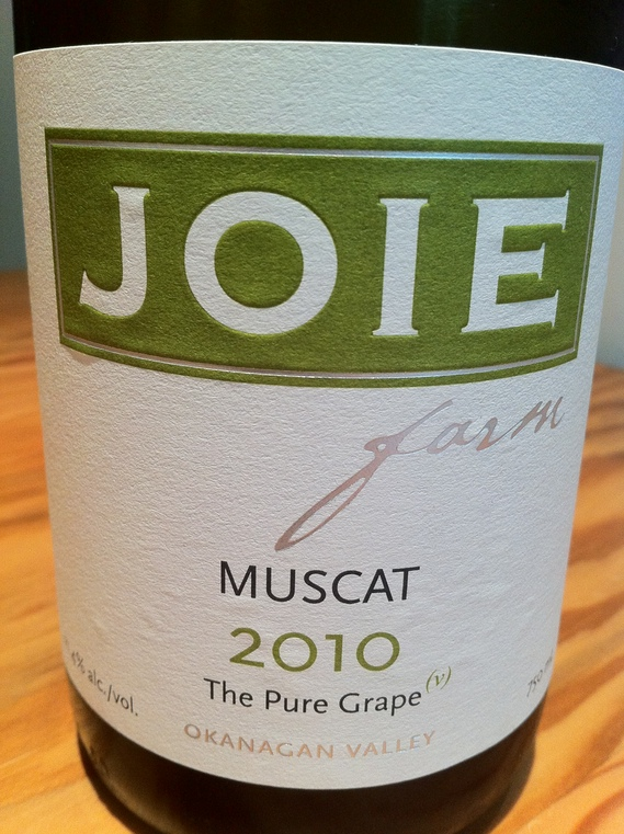 Joie Farms Muscat 2010