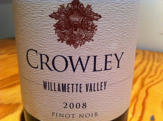 Crowley 2008 Pinot Noir