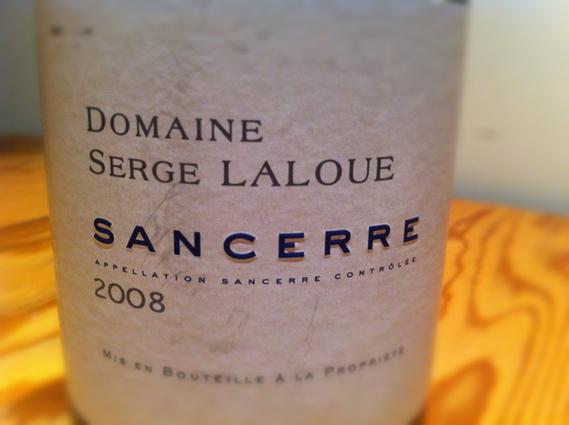 Domaine Serge Laloue Sancerre 2008
