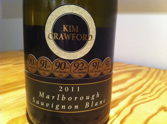 Kim Crawford 2011 Marlborough Sauvignon Blanc