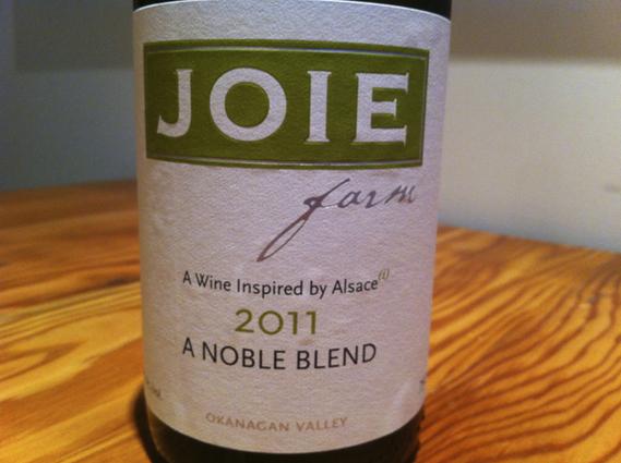 """Joie Farm """"A Noble Blend"""" 2011"""
