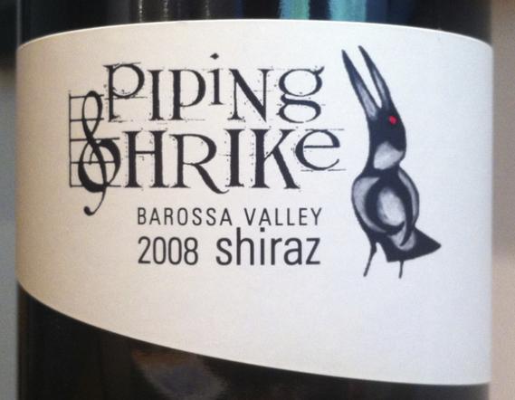2008 Piping Shrike Shiraz