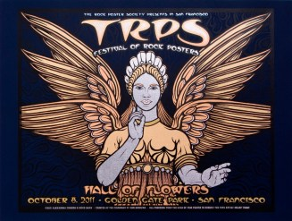 TRPS Festival of Rock Posters poster by Chris Shaw