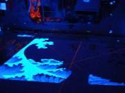 process picture of Madonna Fukushima - Blacklight Wave 1