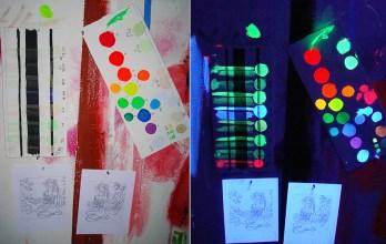 process materials of Madonna Fukushima - Color Test