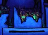 Madonna Fukushima - Reactor Fire black light close up 2