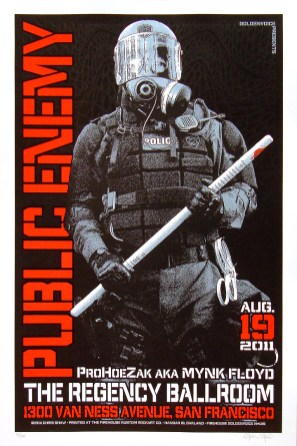 Public Enemy poster Chris Shaw