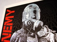 Public Enemy poster Chris Shaw detail