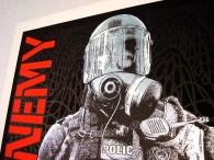 Public Enemy poster Chris Shaw detail
