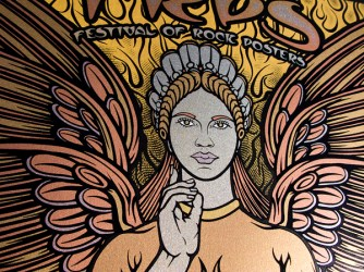 TRPS Festival of Rock Posters 2011 - Gold Variant, detail 2