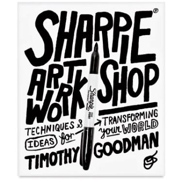 24. Goodman's Sharpie Art Workshop book.