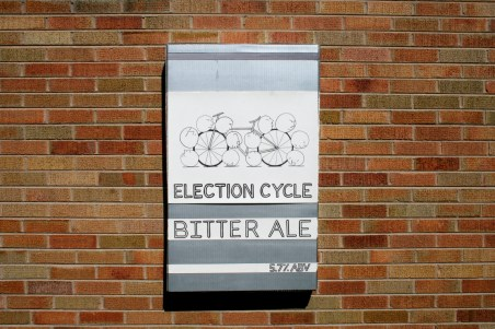4. Election Cycle as beer label
