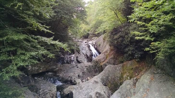 One of many beautiful waterfalls.