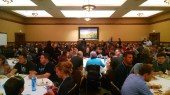 Breakfast with a few co-workers at our Grand Meetup :)