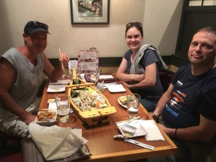 Sushi with super awesome friends.