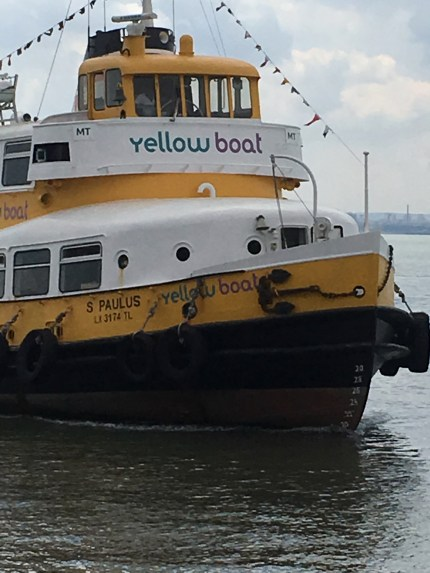 Yellow Tour Ferry. So fun
