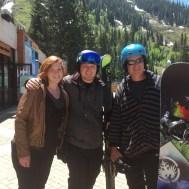 Lauren, CJ and Chris