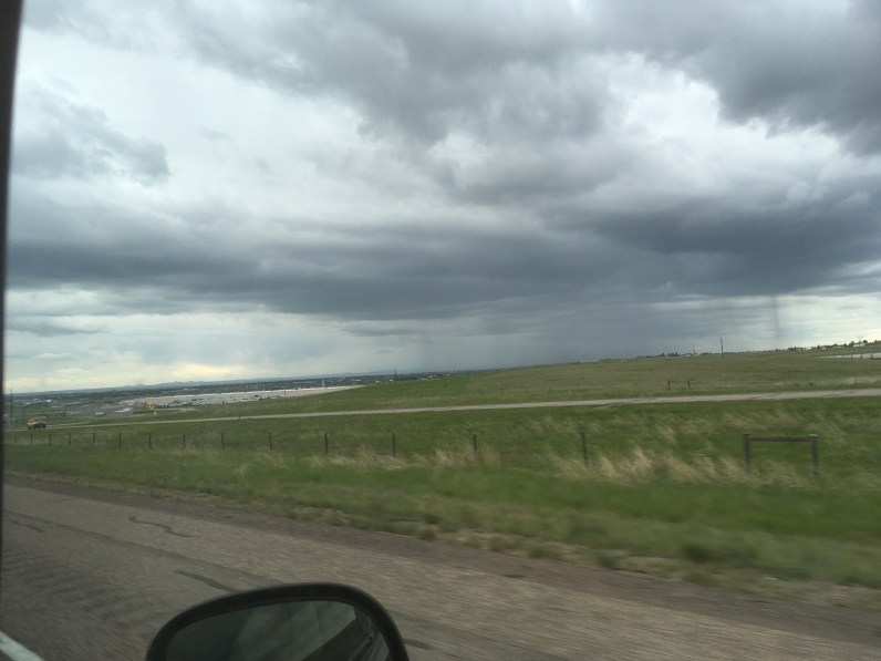 rain next to us