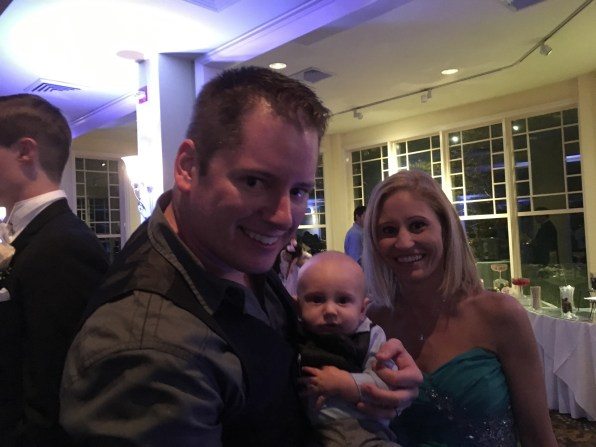 Greg, Rachel and Baby