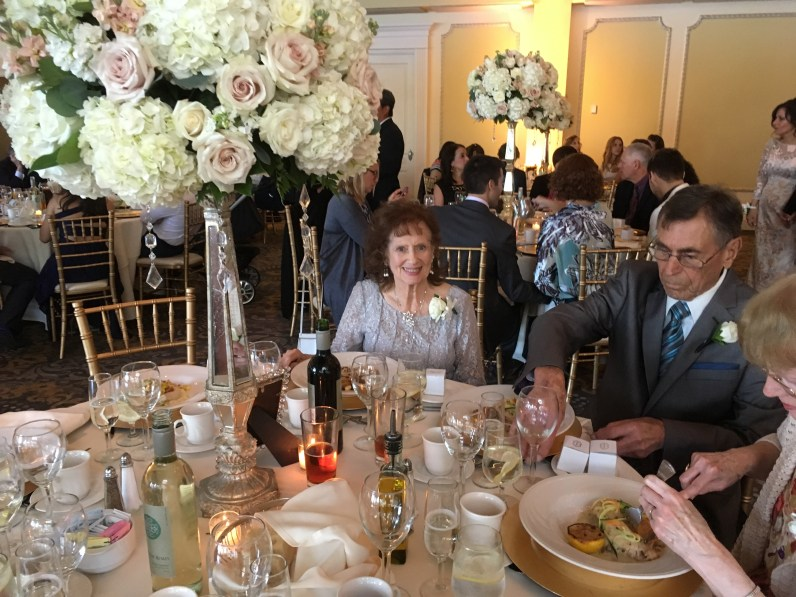Mom at Reception
