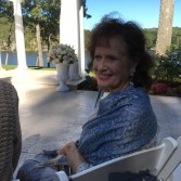 Mom Pollock at ceremony