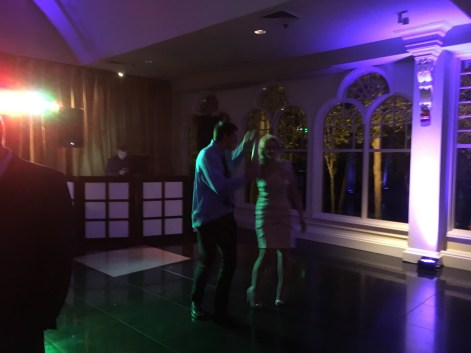 Susan and Andy Dancing