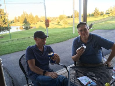 2018 Chris and Bob at Bob O Links