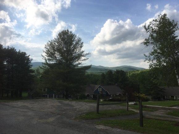 Mountain views during our walk.