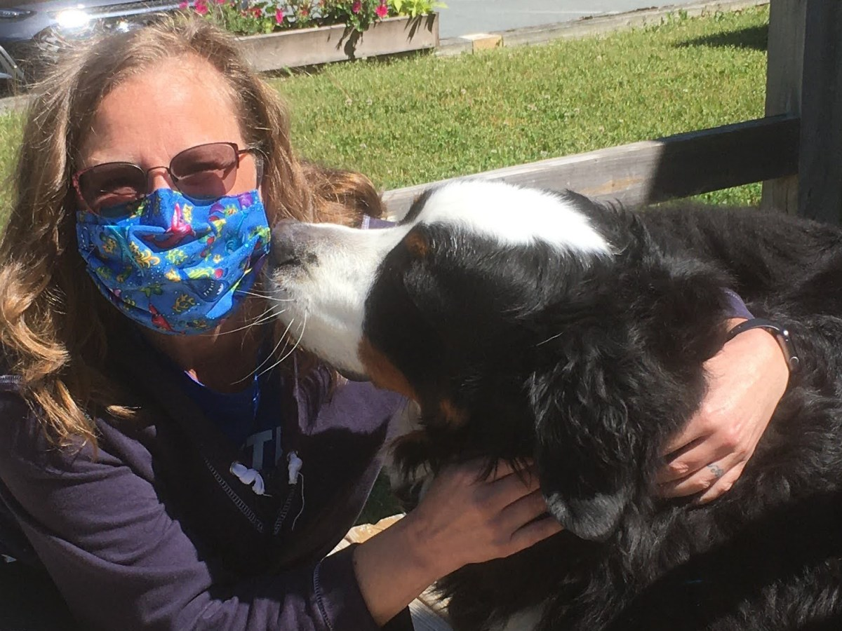 Kisses from Charlie - also mentioned in https://chrissie.blog/2019/12/18/a-birthday-to-remember/