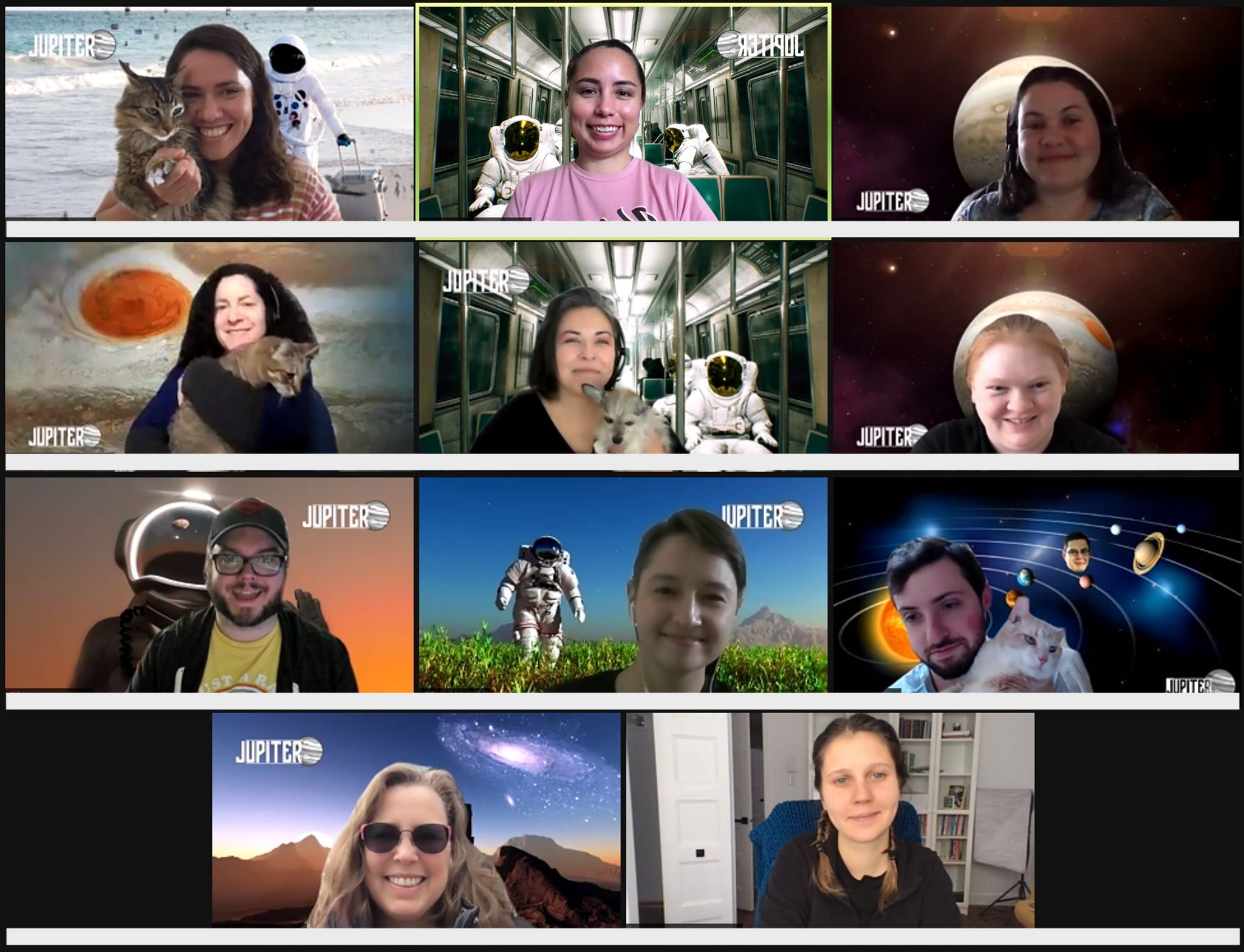 2021 Jupiter team virtual meetup