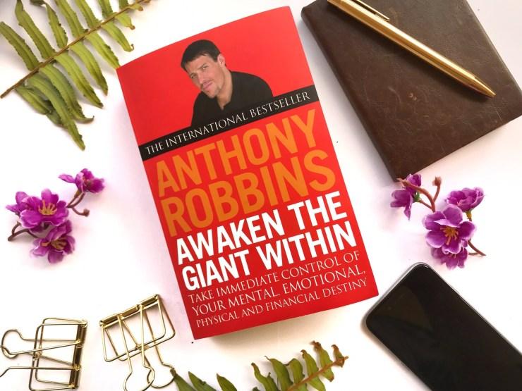 """Tony Robbins, """"Awaken the Giant Within"""" on paperback"""