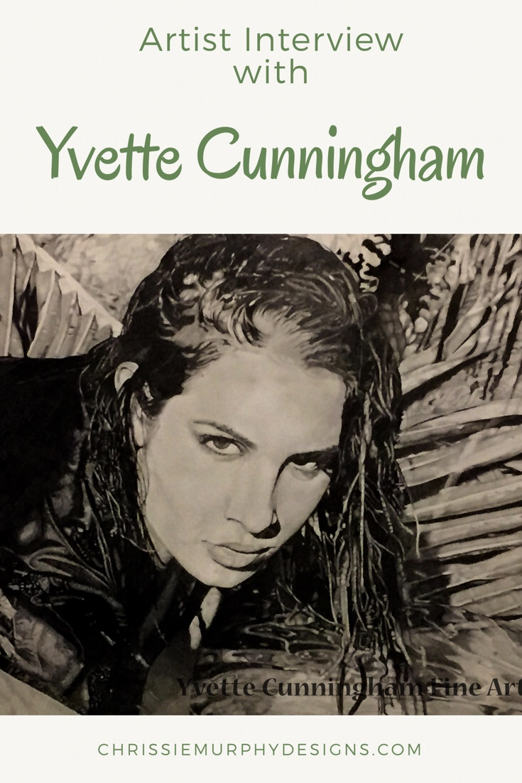 Artist Interview with Yvette Cunningham on Chrissie Murphy Designs