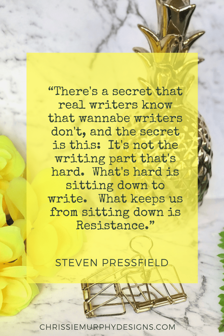 Quote by Steven Pressfield about Resistance