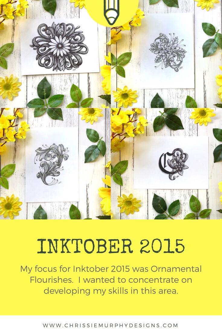 Inktober 2015 with Chrissie Murphy Designs