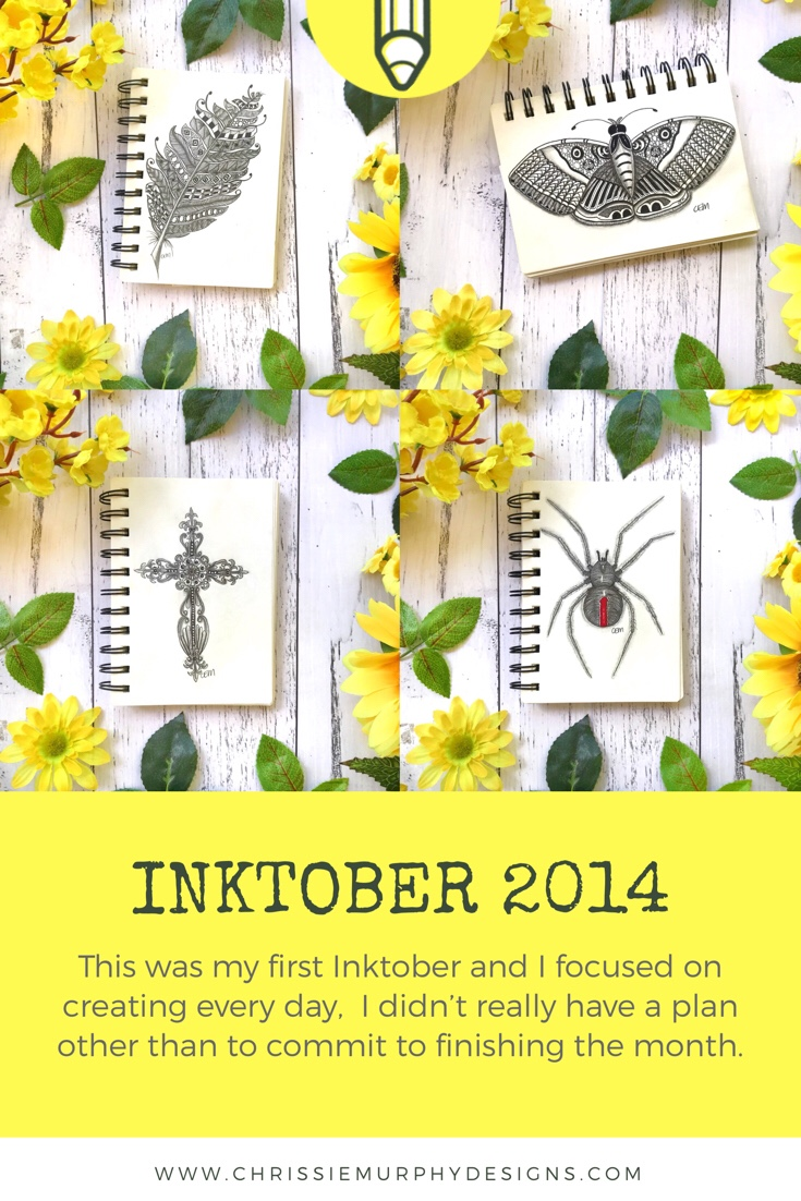 Inktober 2014 with Chrissie Murphy Designs