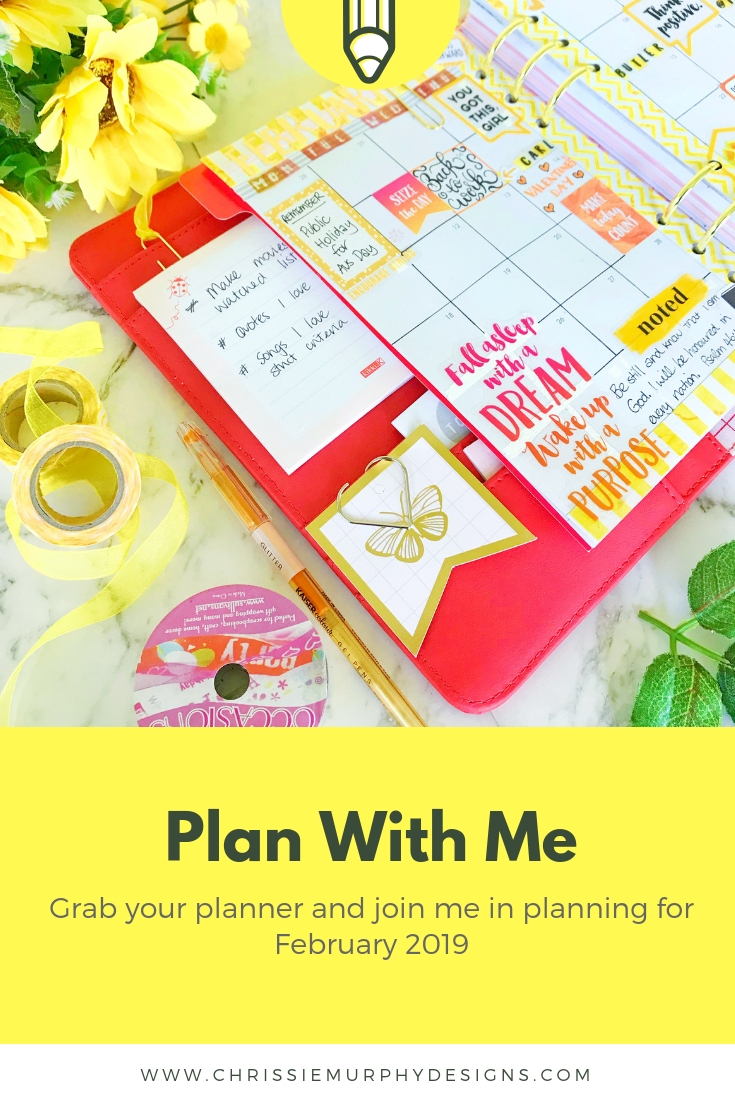 Plan With Me for February 2019