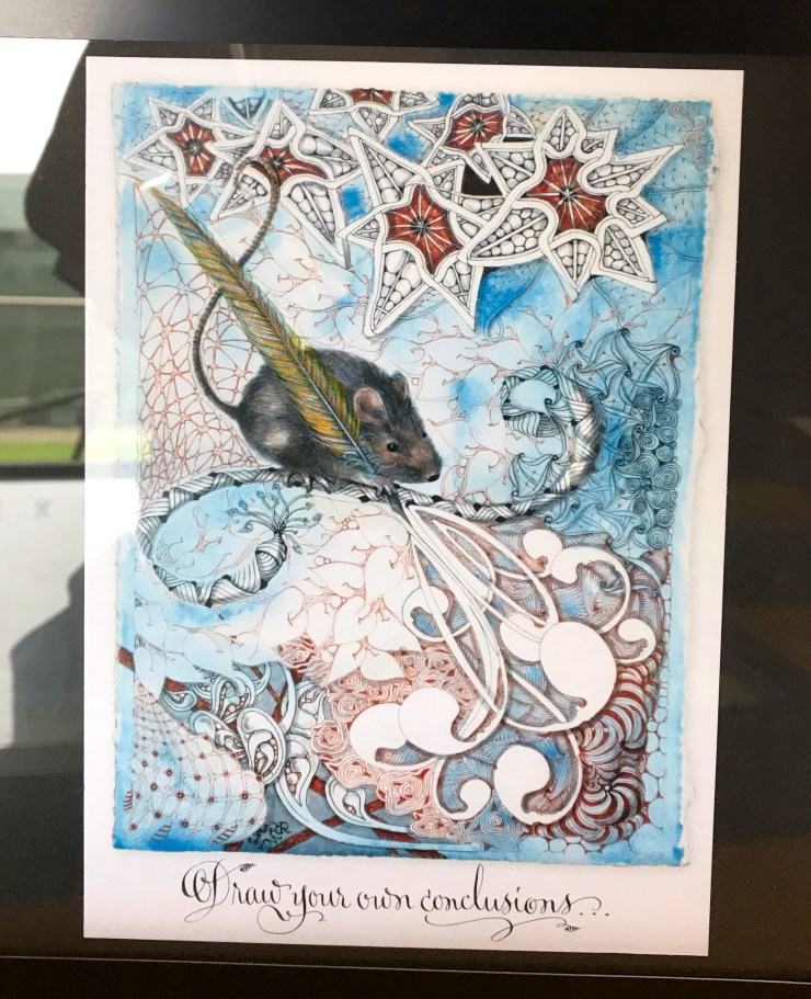 Zentangle work by Rick and Maria