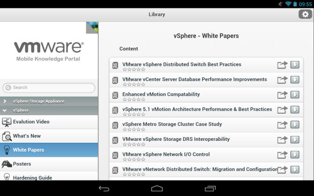 Nexus 7 - VMware Mobile Knowledge Portal