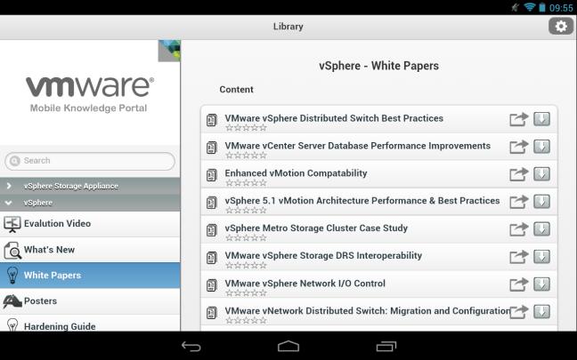 Nexus 7 - VMware Mobile Knowledge Portal