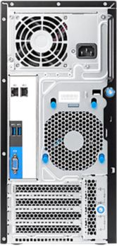 HP ProLiant ML10 v2 / Back