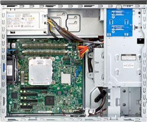 HP ProLiant ML10 v2 / Inside