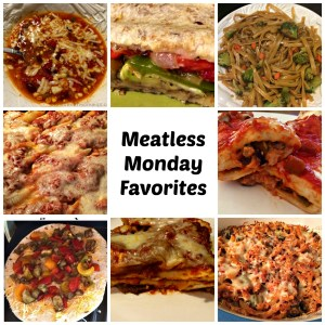Meatless Monday Vegetarian Meals