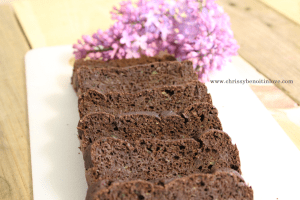 chocolate zucchini bread 2
