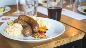 yeg salz sausage beer