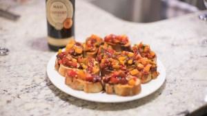 edmonton catering bruschetta recipe