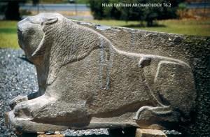 Lion orthostat - Hazor