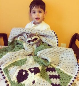 corner to corner crochet blanket