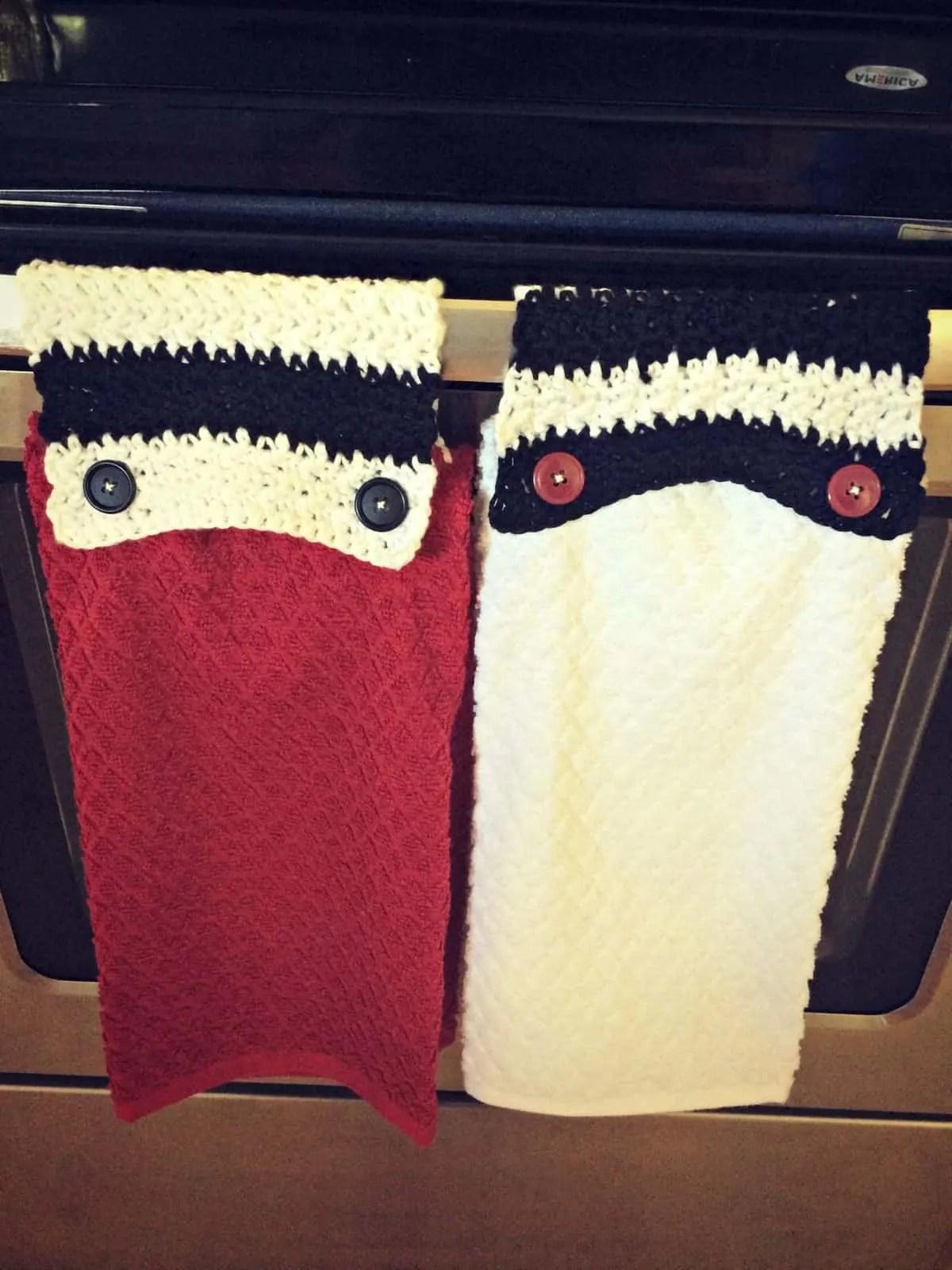 Modern Crochet Towel Topper Tutorial