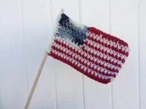 crochet flag